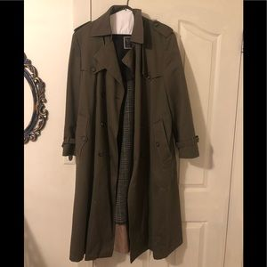 Men's Christian Dior Trench Coat 38R